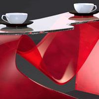 3D AcrylglasTisch