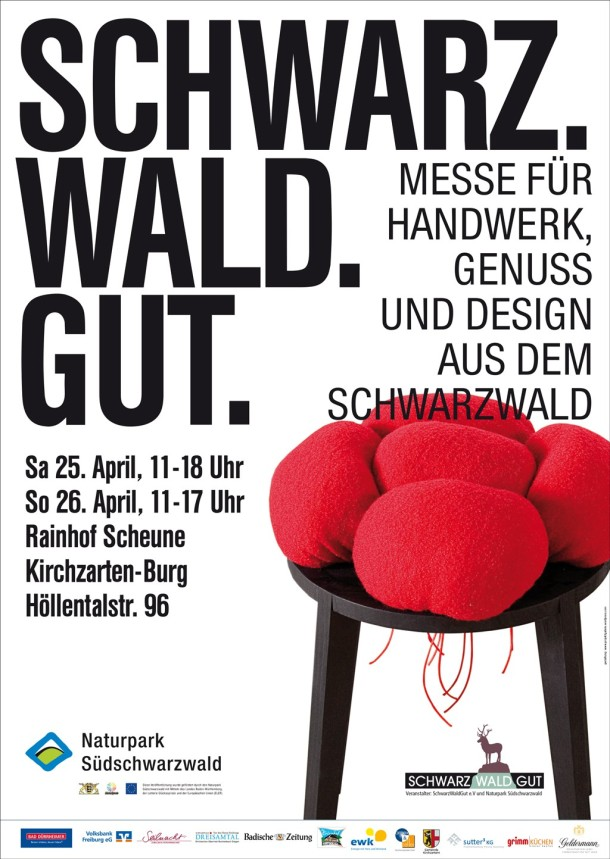 Poster Messe SchwarzWaldGut, April 2015
